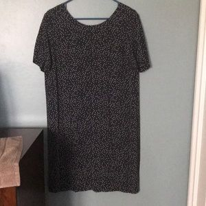 Madewell Dresses - NWT • Madewell • Zip-Back Dress in Dot Scatter